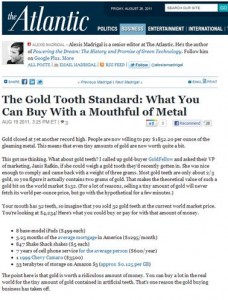 GoldFellow buys dental gold