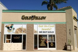 San Diego GoldFellow Store with Window Promo