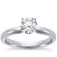 platinum and diamond engagement ring
