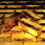 gold bars traded on commodities markets