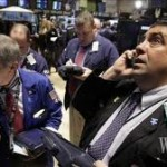 Gold trading on the NY Mercantile Exchange