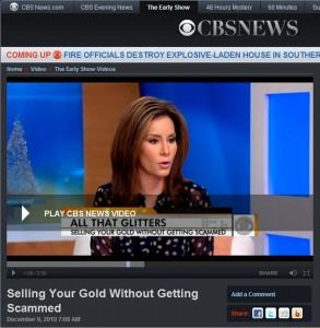 GoldFellow on CBS News