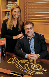 Founders Robin & Michael Gusky