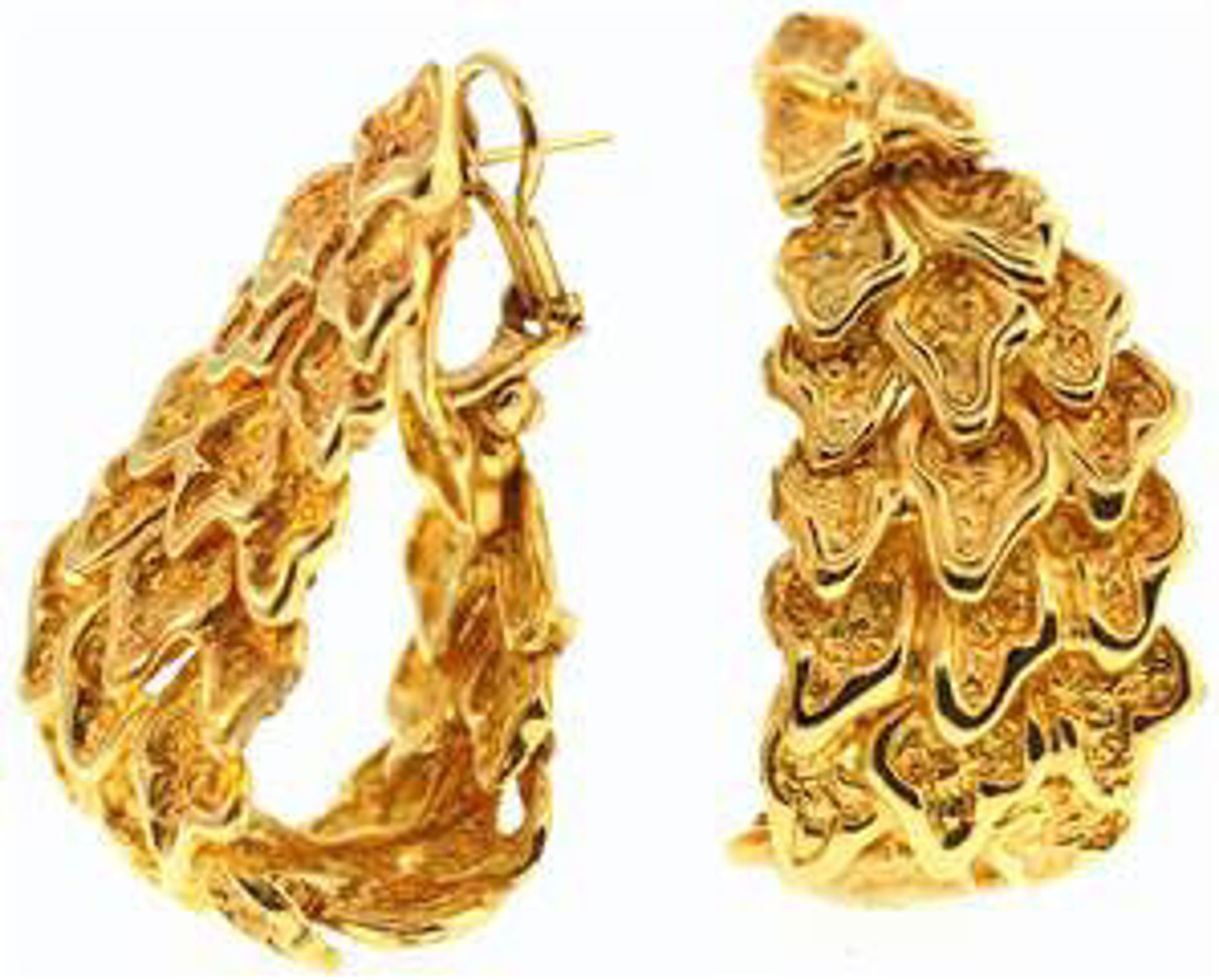 Picture of Earrings 14kt-26.5 DWT, 41.2 Grams