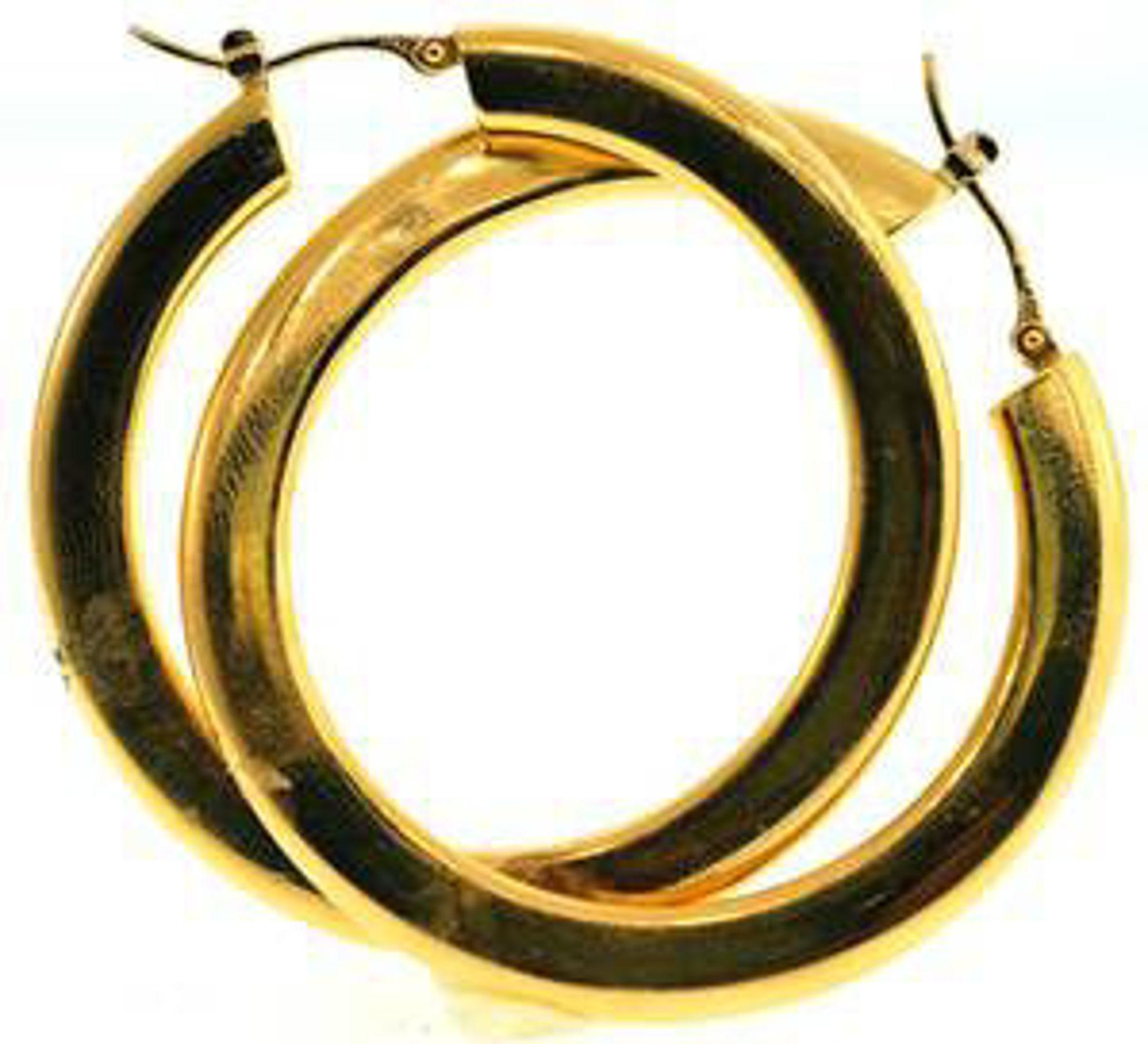 Picture of Earrings 18kt-7.1 DWT, 11.0 Grams