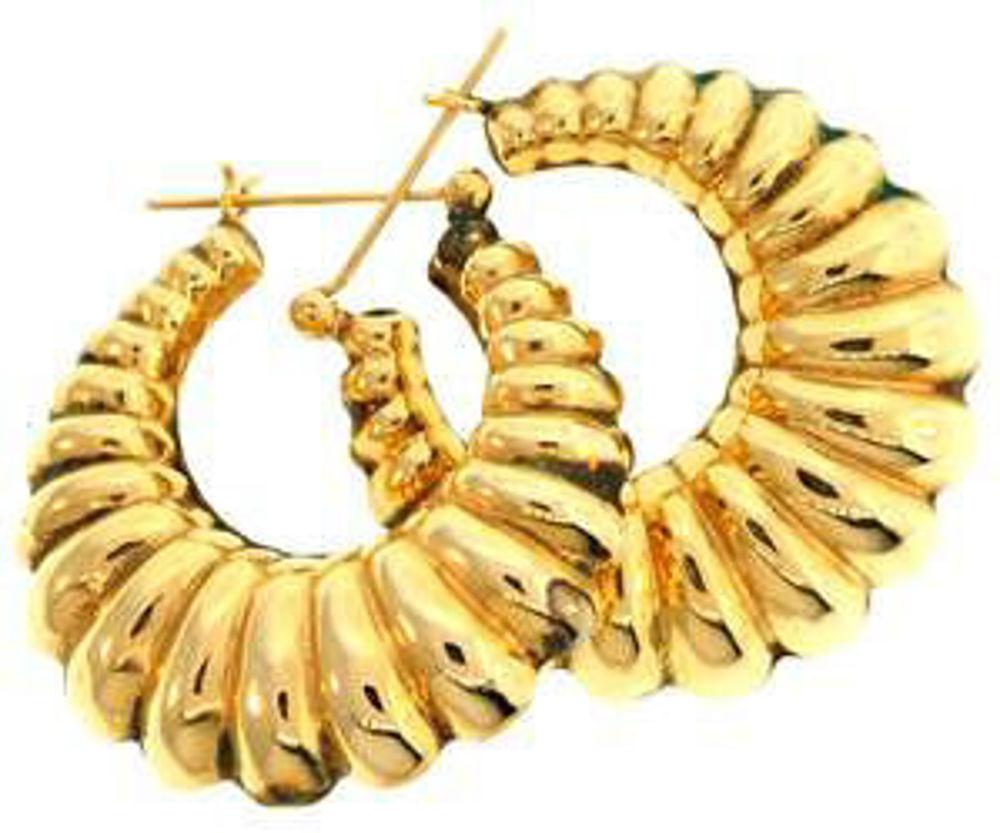 Picture of Earrings 14kt-5.3 DWT, 8.2 Grams
