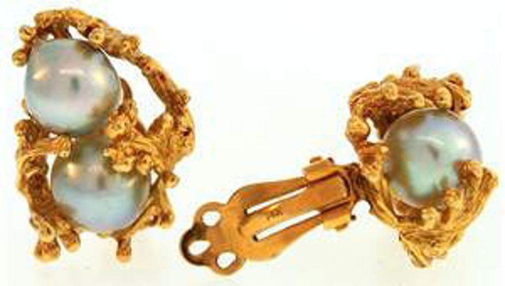 Picture of Earrings 14kt-8.5 DWT, 13.2 Grams