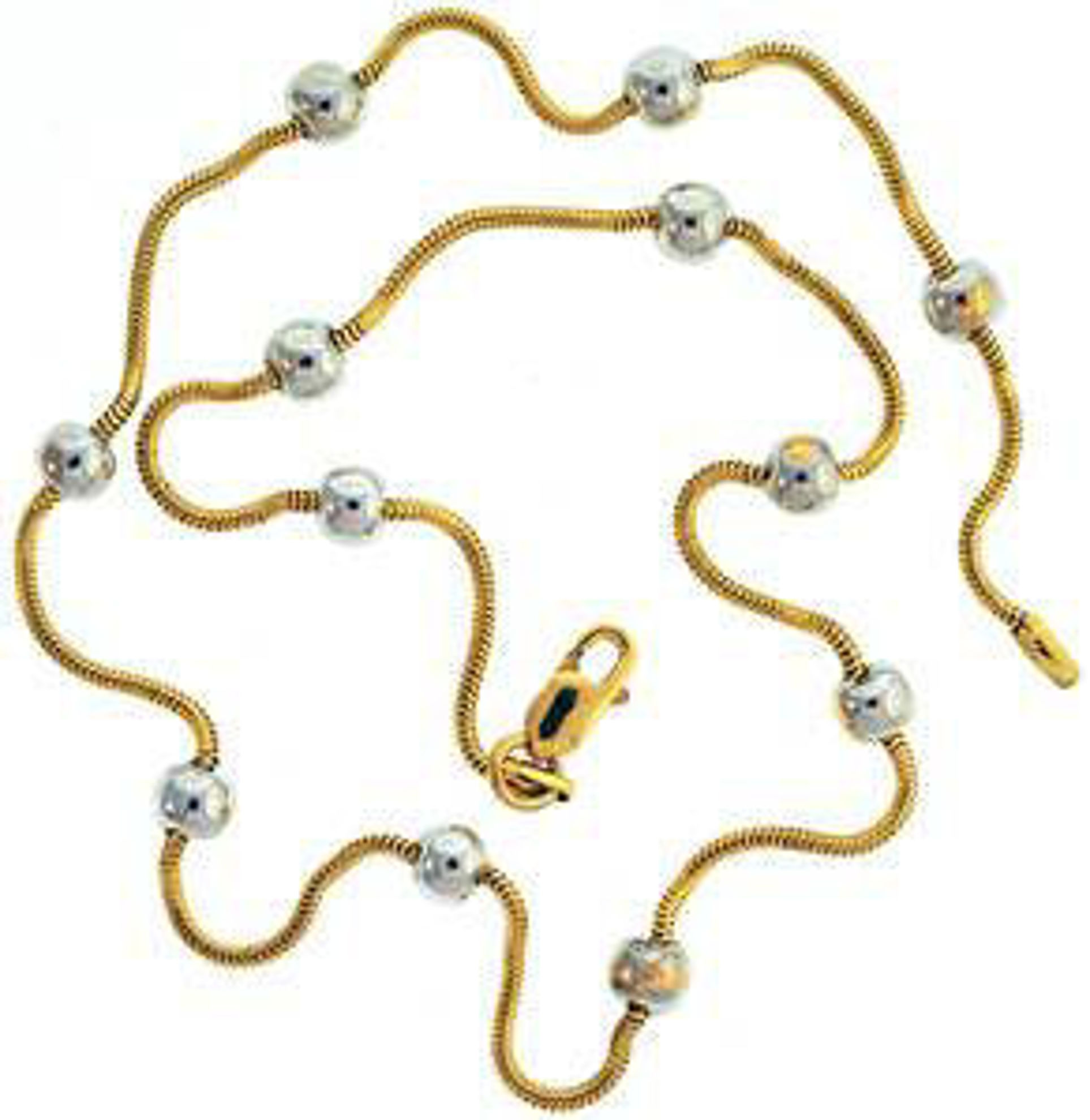 Picture of Necklaces 18kt-5.6 DWT, 8.7 Grams