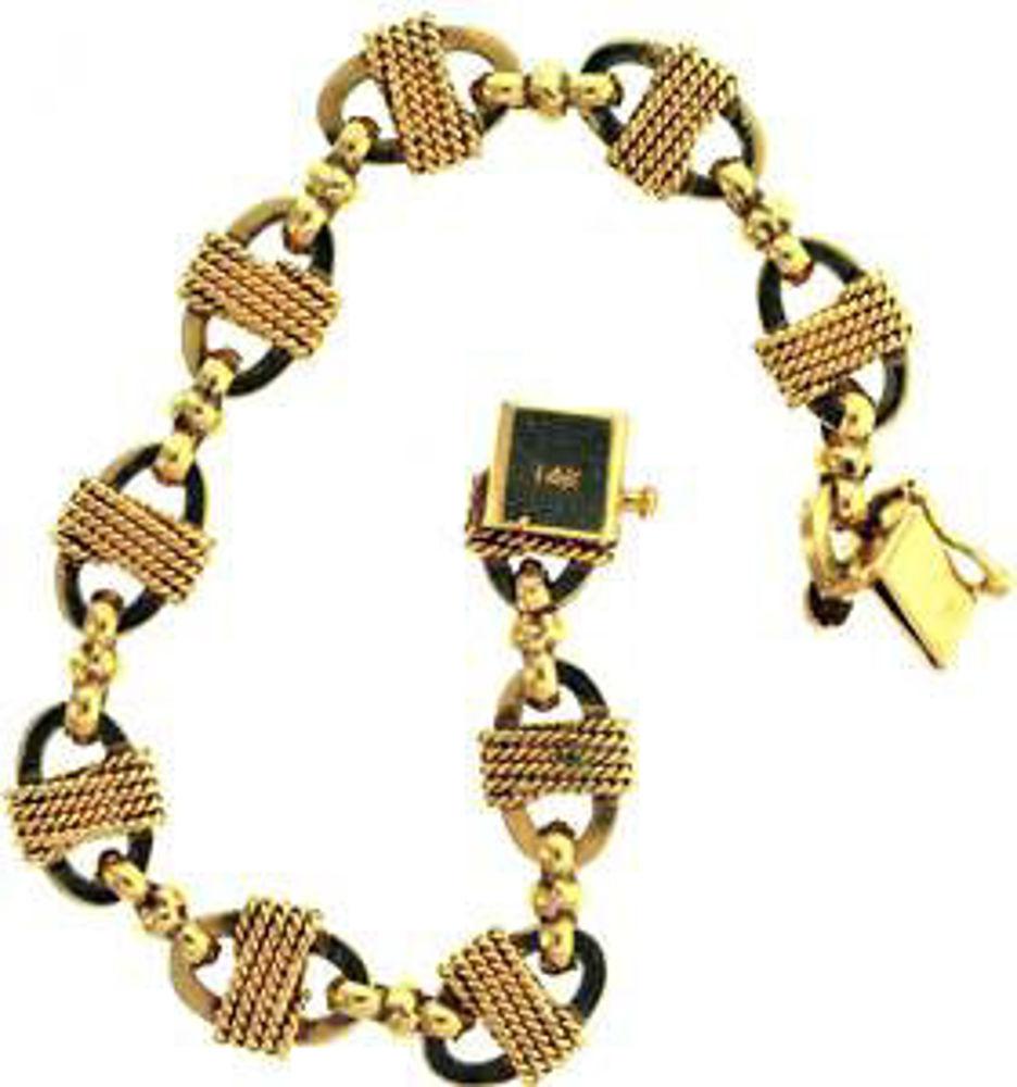 Picture of Bracelets 14kt-11.4 DWT, 17.7 Grams