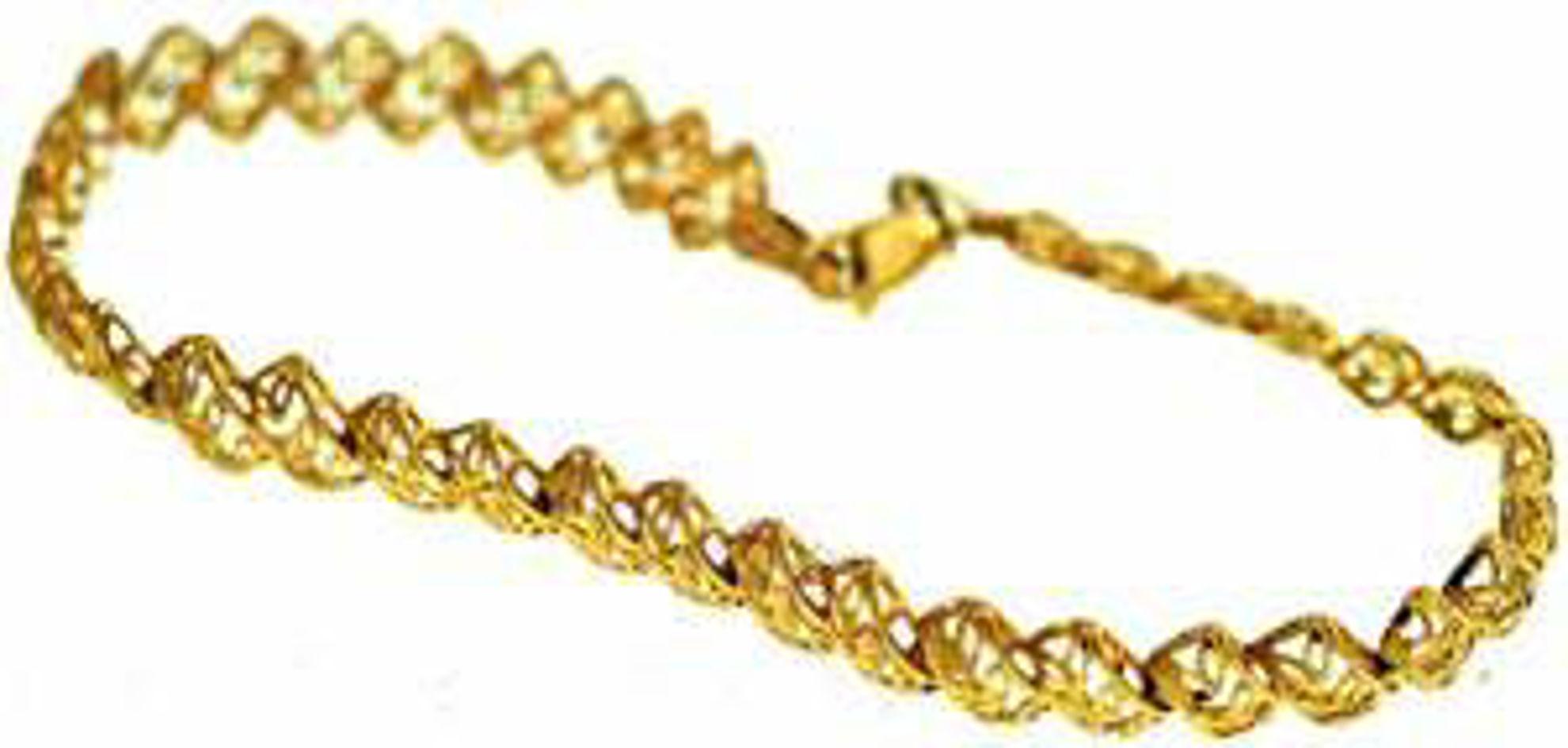 Picture of Bracelets 10kt-3.3 DWT, 5.1 Grams