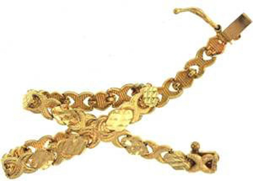 Picture of Bracelets 10kt-3.7 DWT, 5.8 Grams