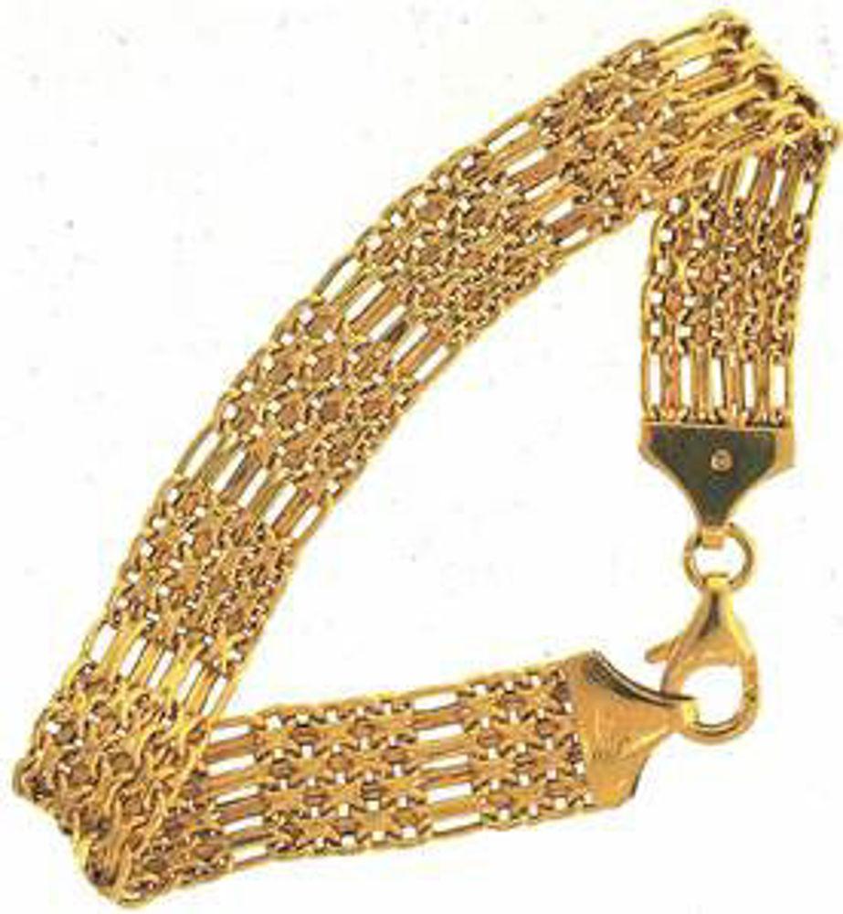 Picture of Bracelets 10kt-4.7 DWT, 7.3 Grams