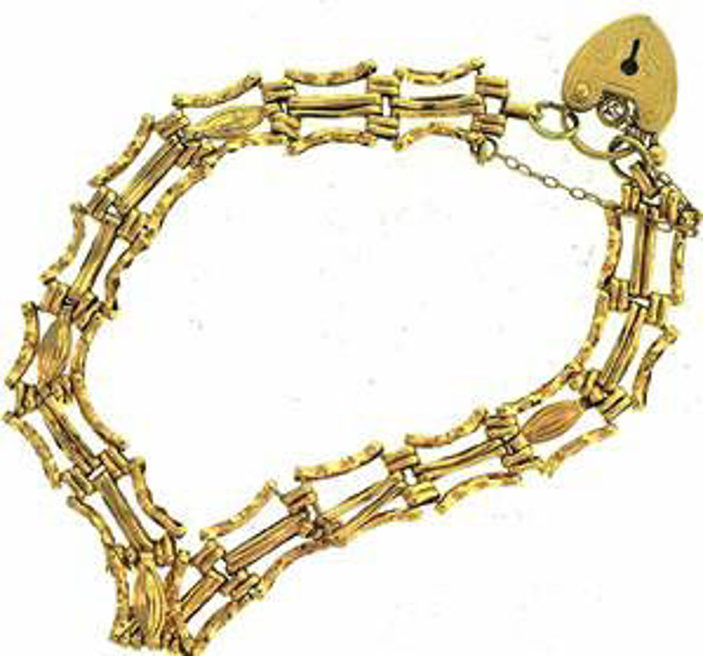 Picture of Bracelets 14kt-4.5 DWT, 7.0 Grams