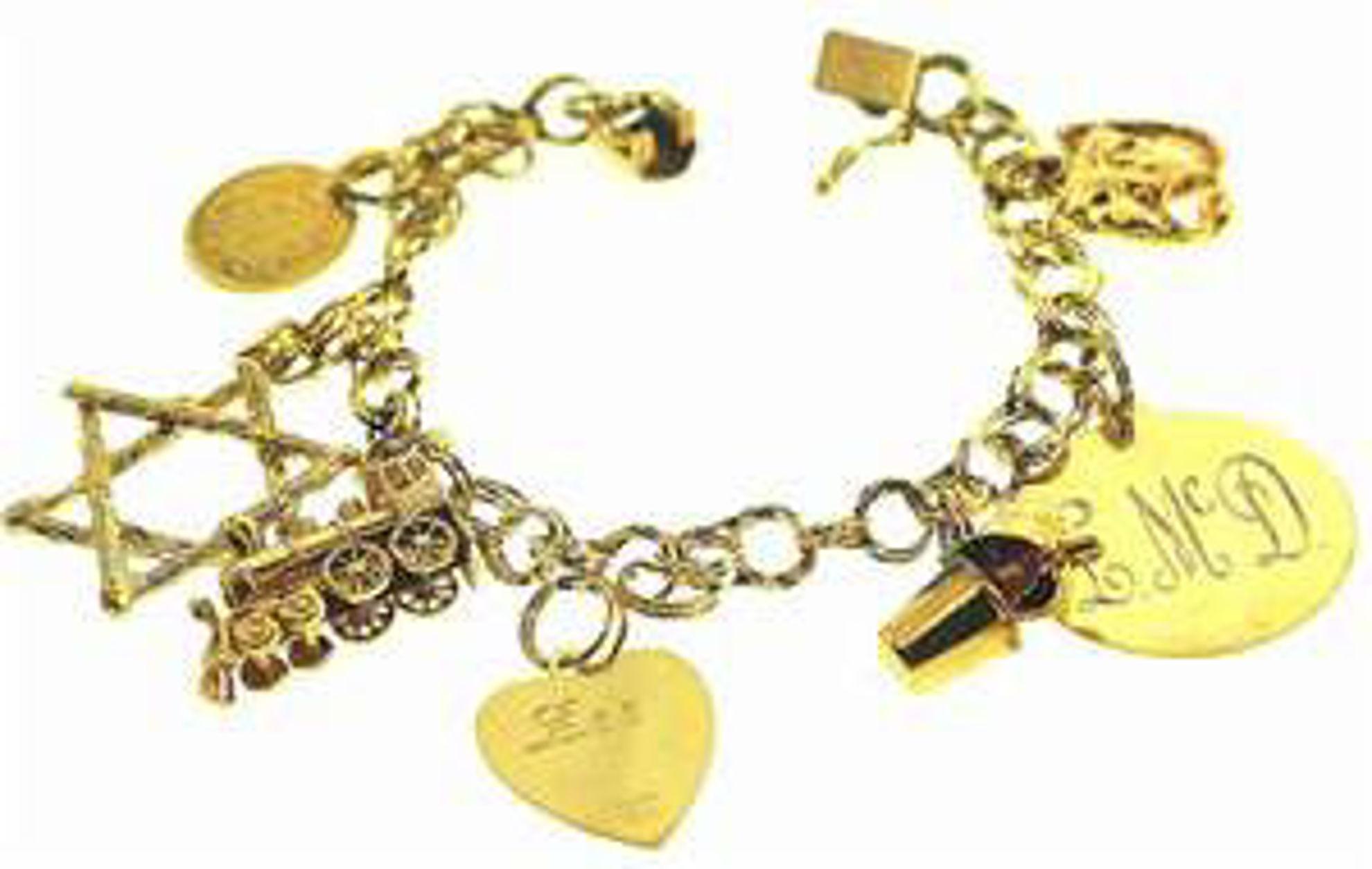 Picture of Bracelets 14kt-17.1 DWT, 26.6 Grams
