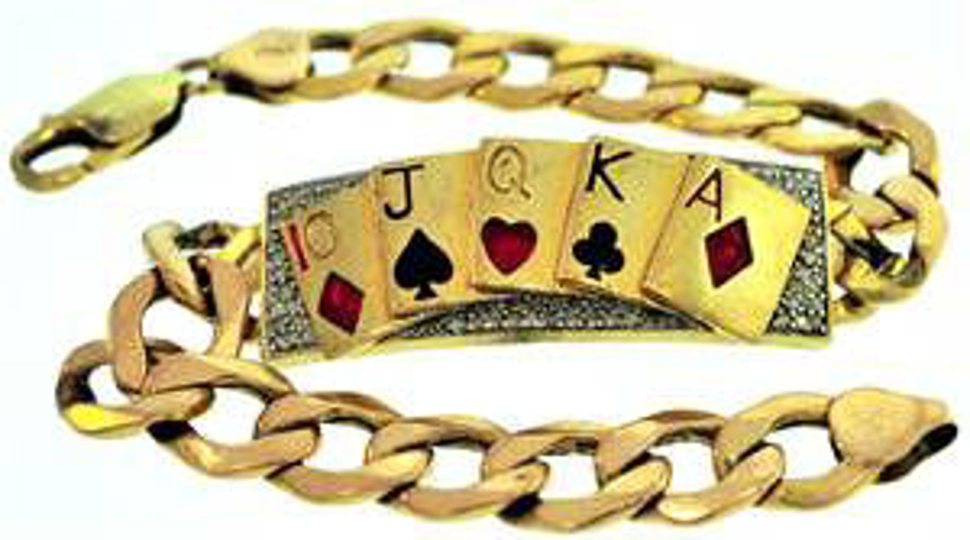Picture of Men's Bracelets 14kt-10.5 DWT, 16.4 Grams