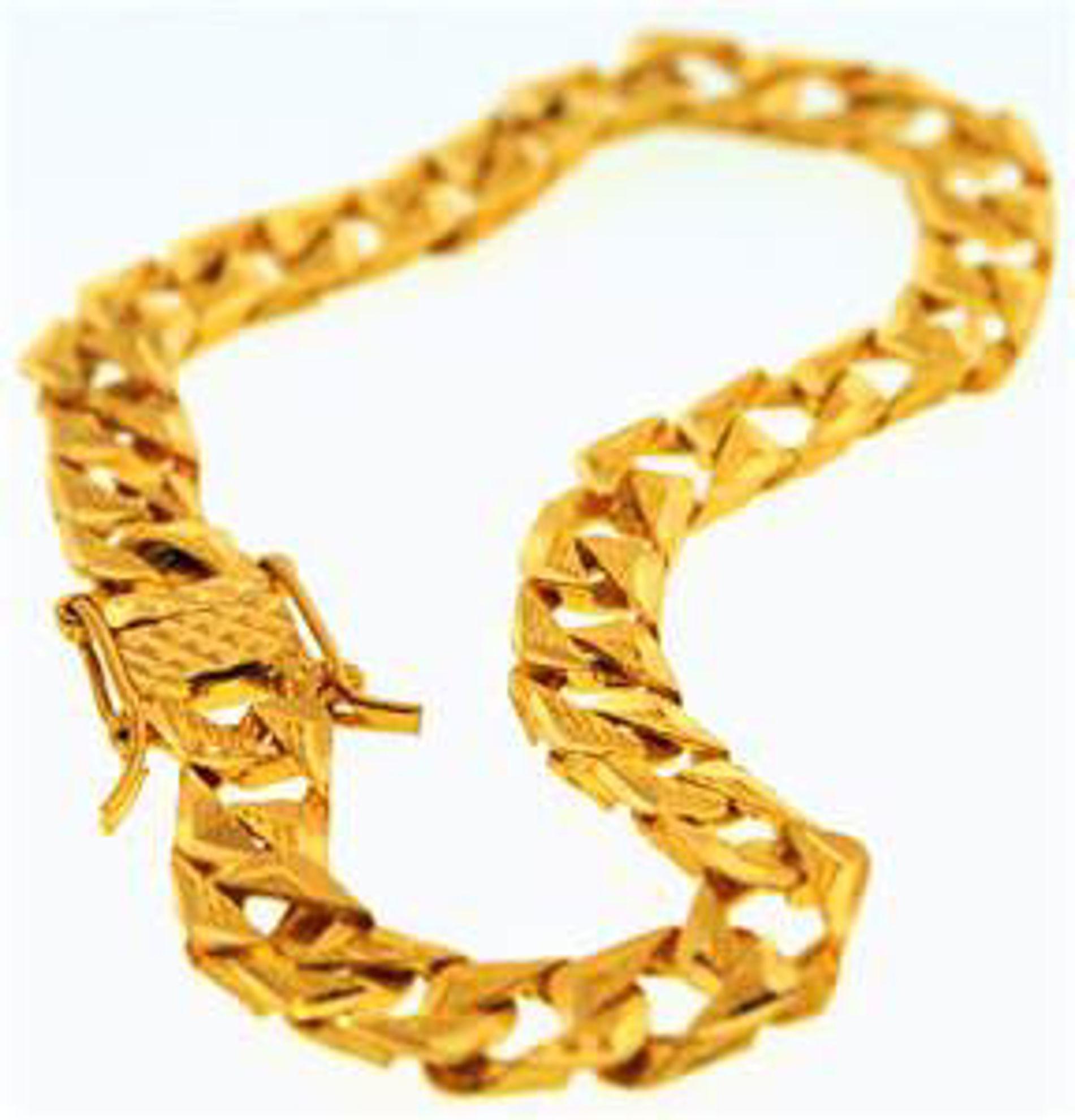 Picture of Men's Bracelets 22kt-12.7 DWT, 19.7 Grams