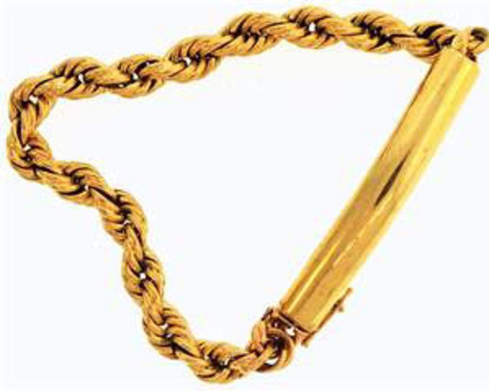 Picture of Men's Bracelets 14kt-9.3 DWT, 14.5 Grams