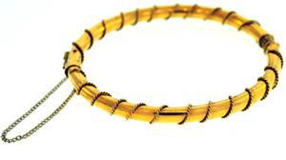 Picture of Bangle Bracelets 14kt-7.4 DWT, 11.5 Grams