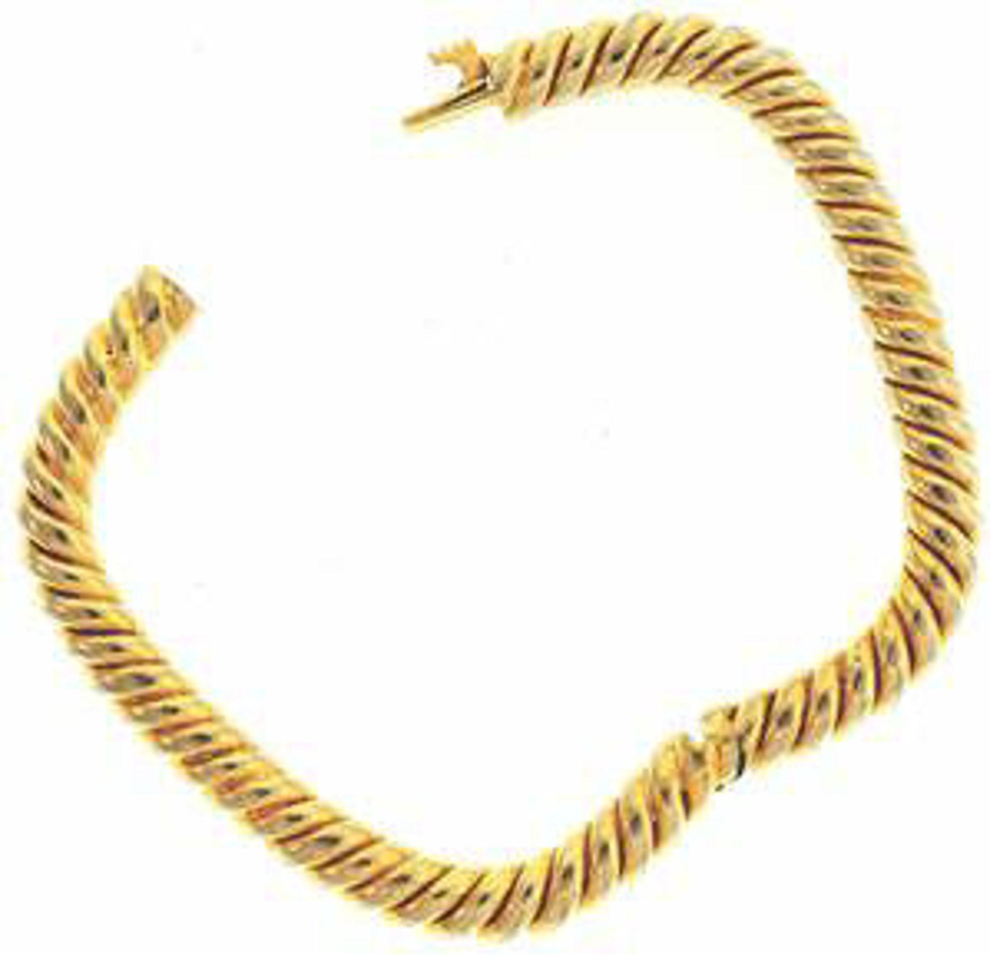 Picture of Bangle Bracelets 18kt-22.9 DWT, 35.6 Grams