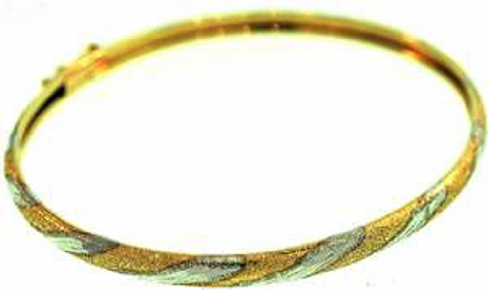 Picture of Bangle Bracelets 10kt-2.1 DWT, 3.3 Grams