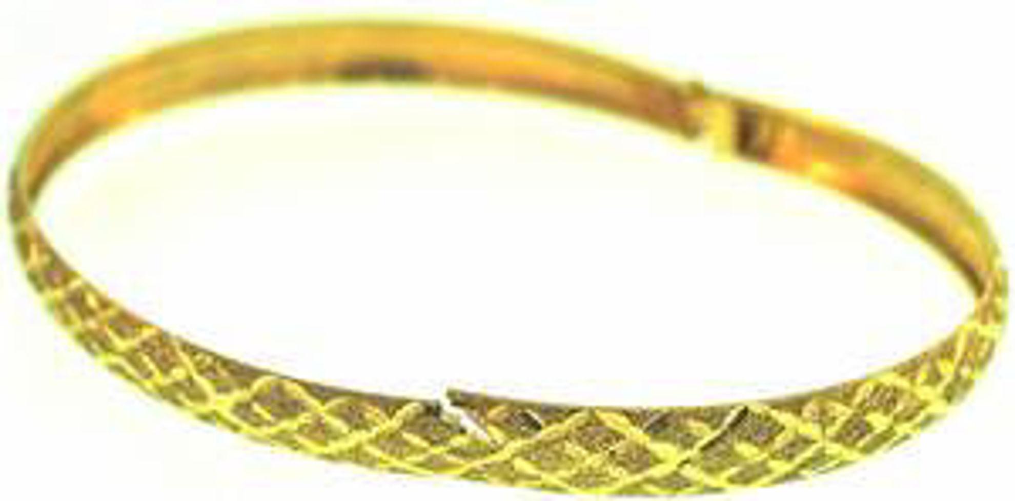 Picture of Bangle Bracelets 10kt-2.8 DWT, 4.4 Grams