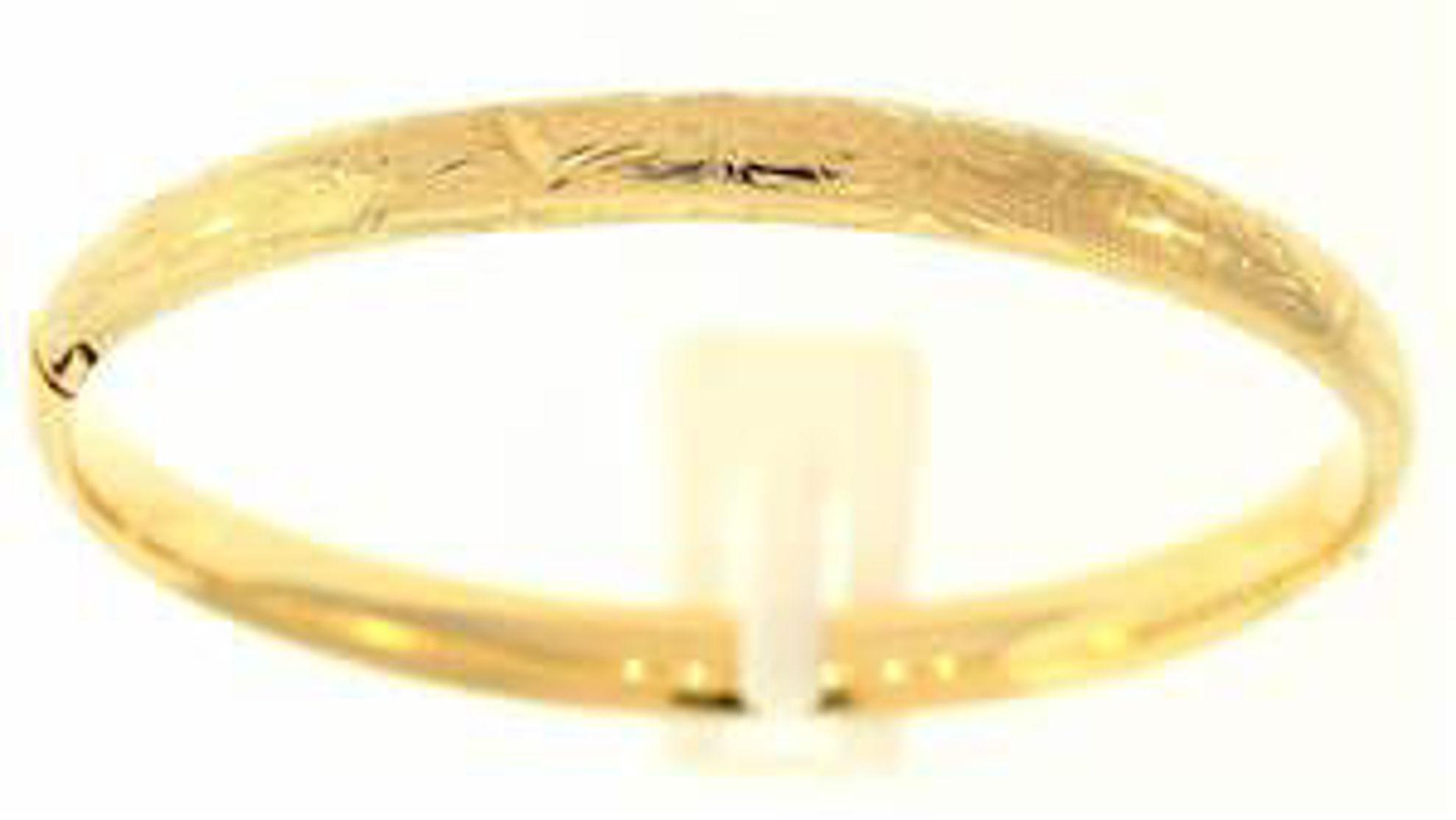 Picture of Bangle Bracelets 14kt-5.1 DWT, 7.9 Grams