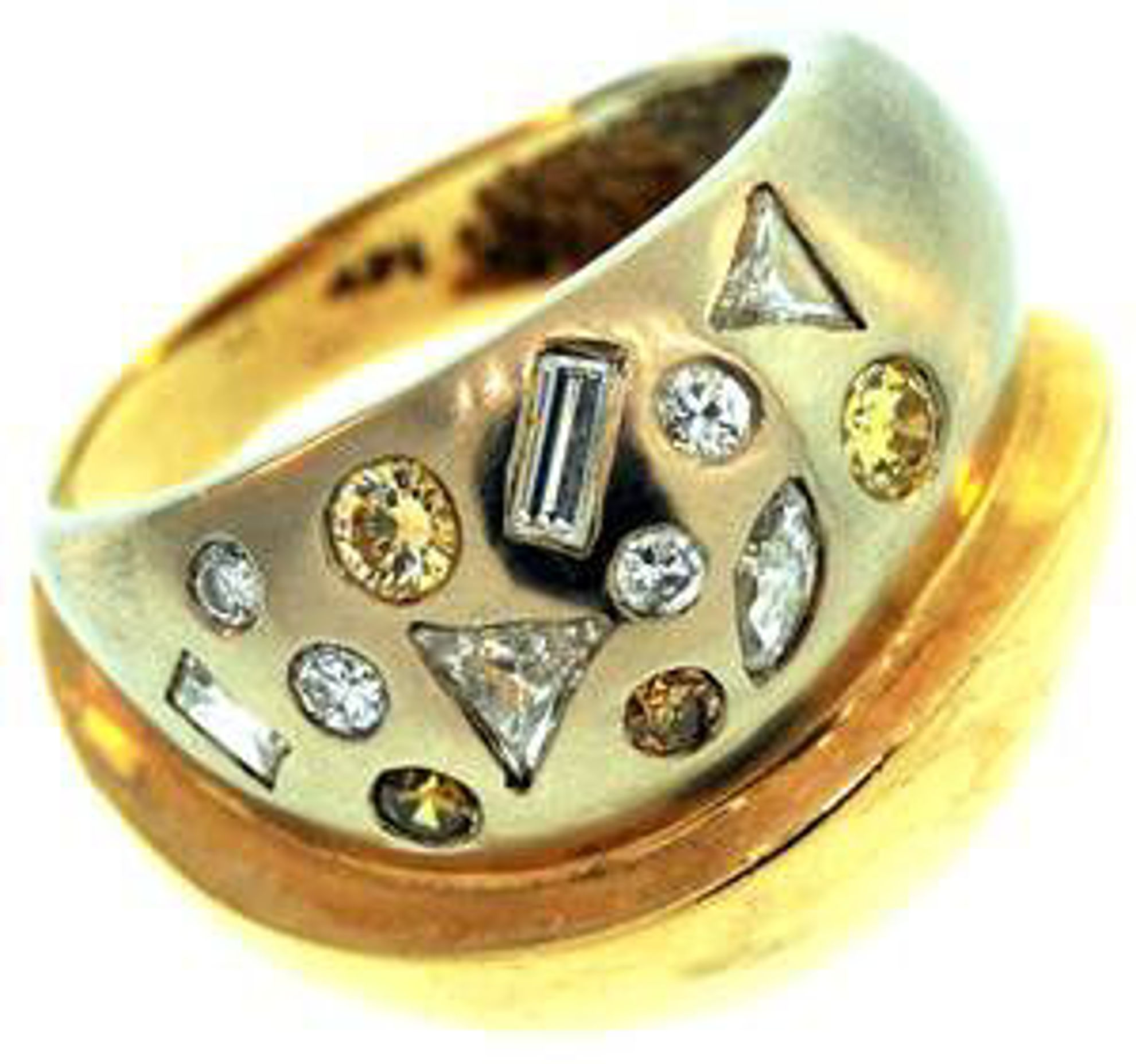 Picture of Ladies' Rings 14kt-7.5 DWT, 11.7 Grams