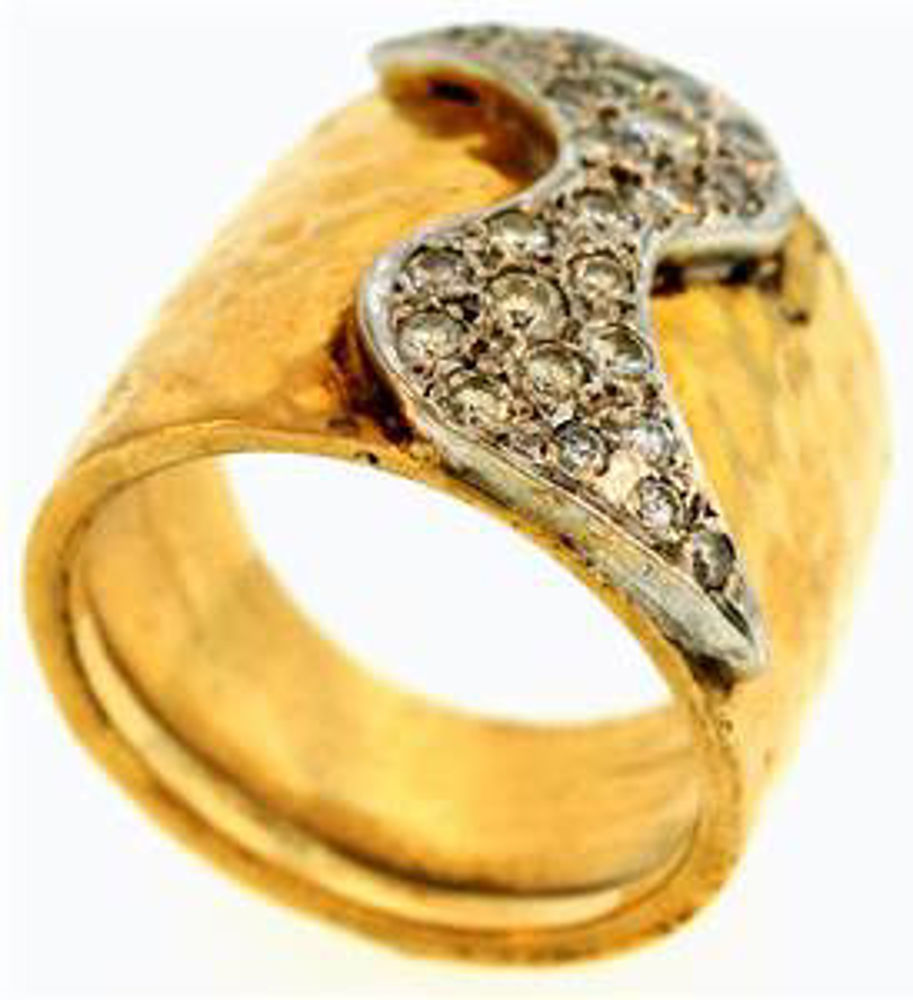 Picture of Ladies' Rings 18kt-8.1 DWT, 12.6 Grams