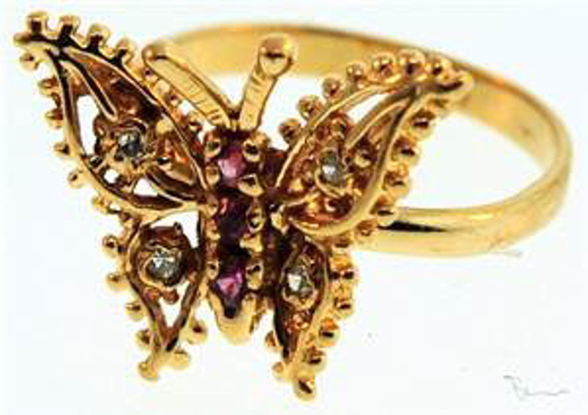 Picture of Ladies' Rings 10kt-1.2 DWT, 1.9 Grams