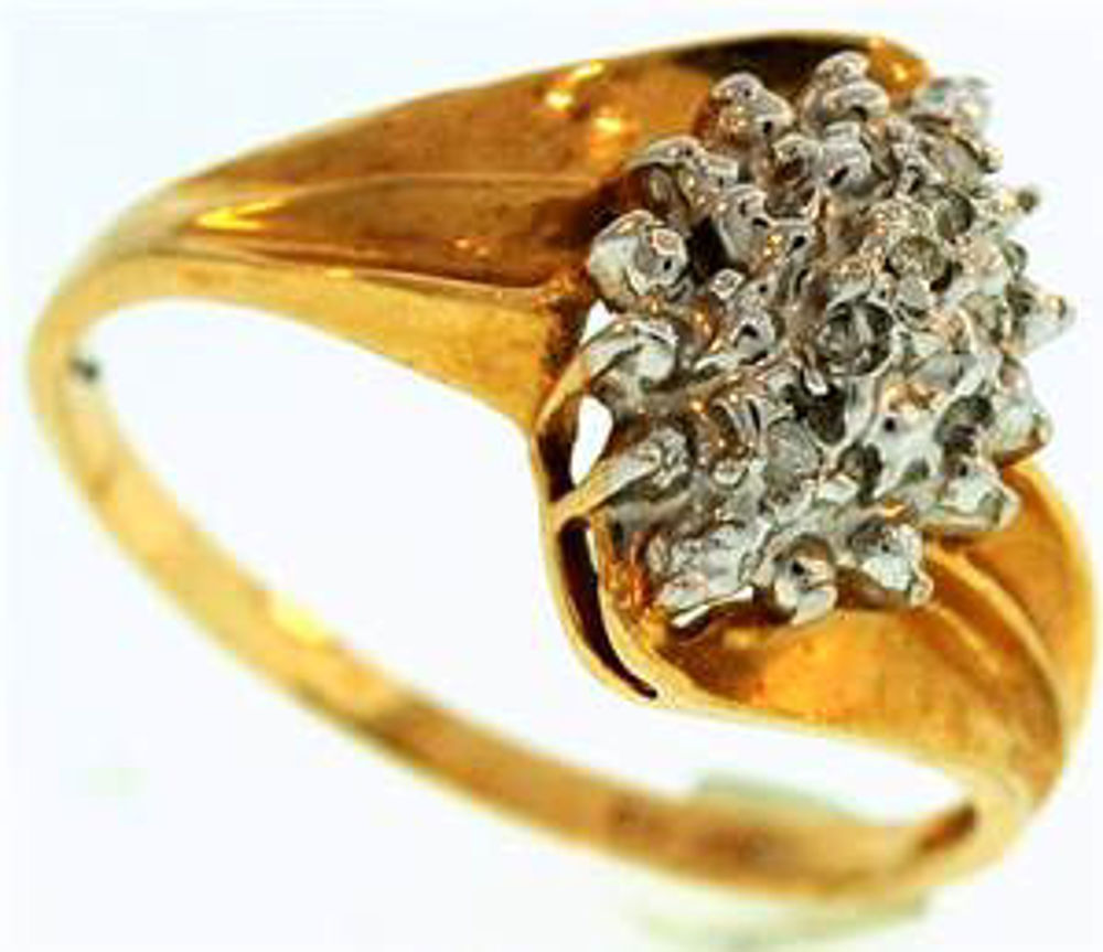 Picture of Ladies' Rings 10kt-1.5 DWT, 2.3 Grams