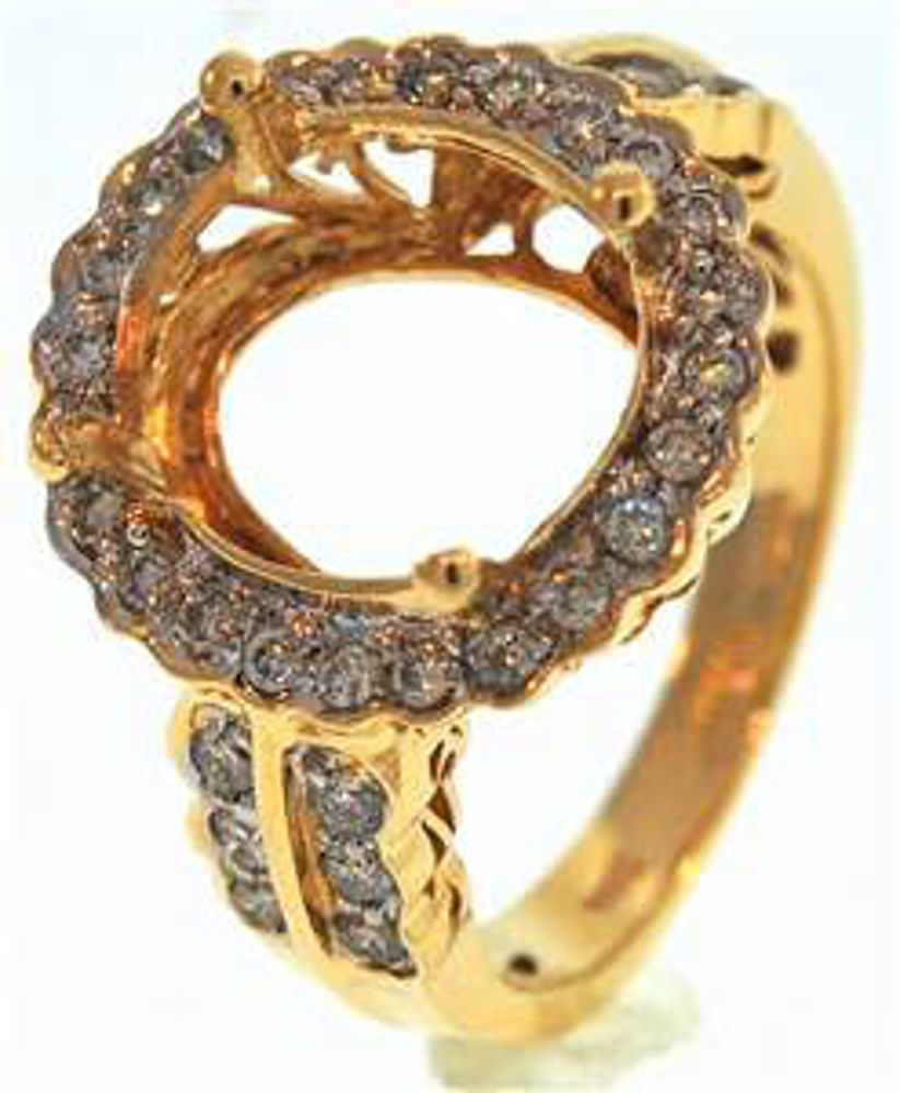 Picture of Ladies' Rings 14kt-2.5 DWT, 3.9 Grams