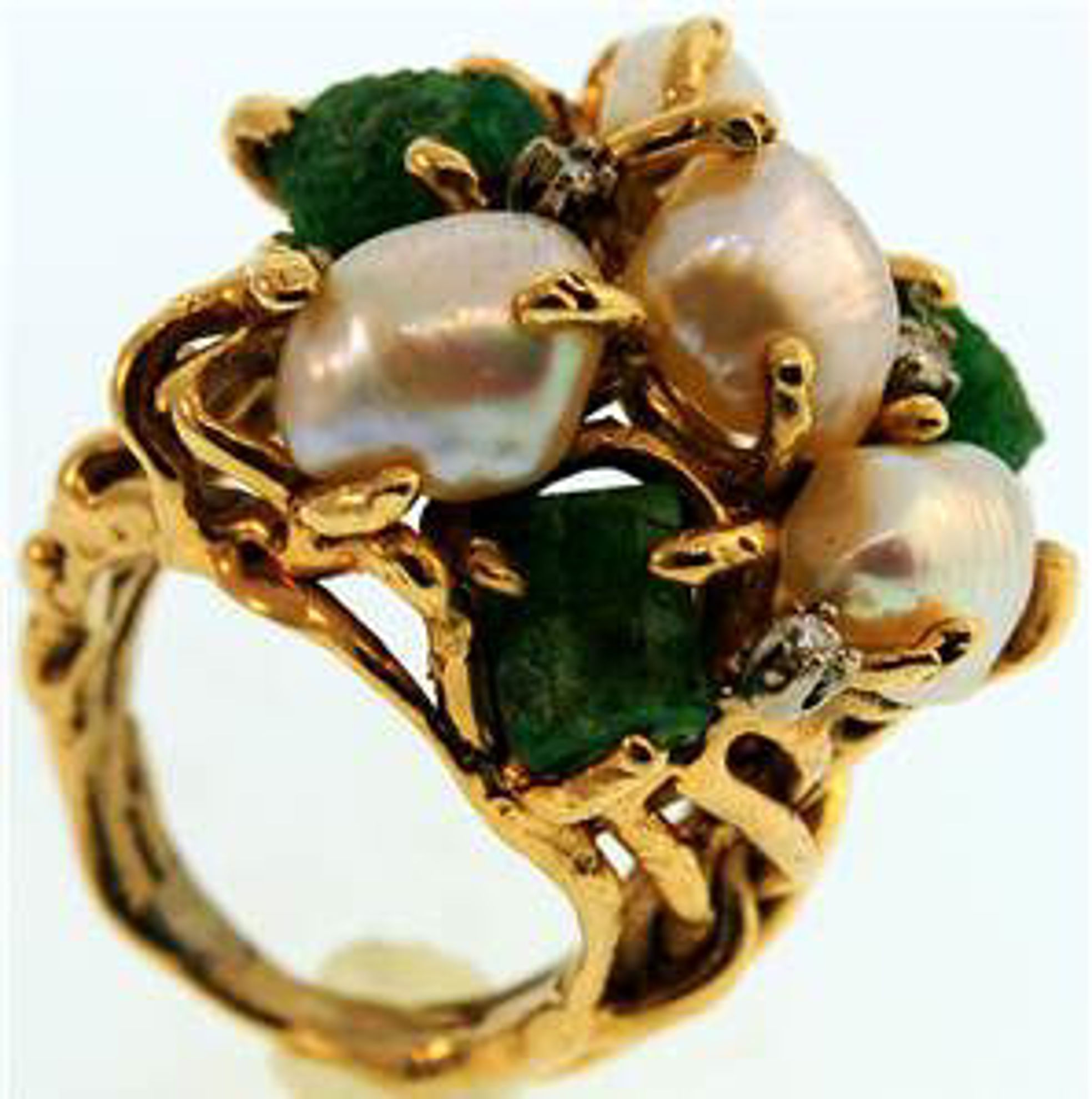 Picture of Ladies' Rings 14kt-12.5 DWT, 19.4 Grams