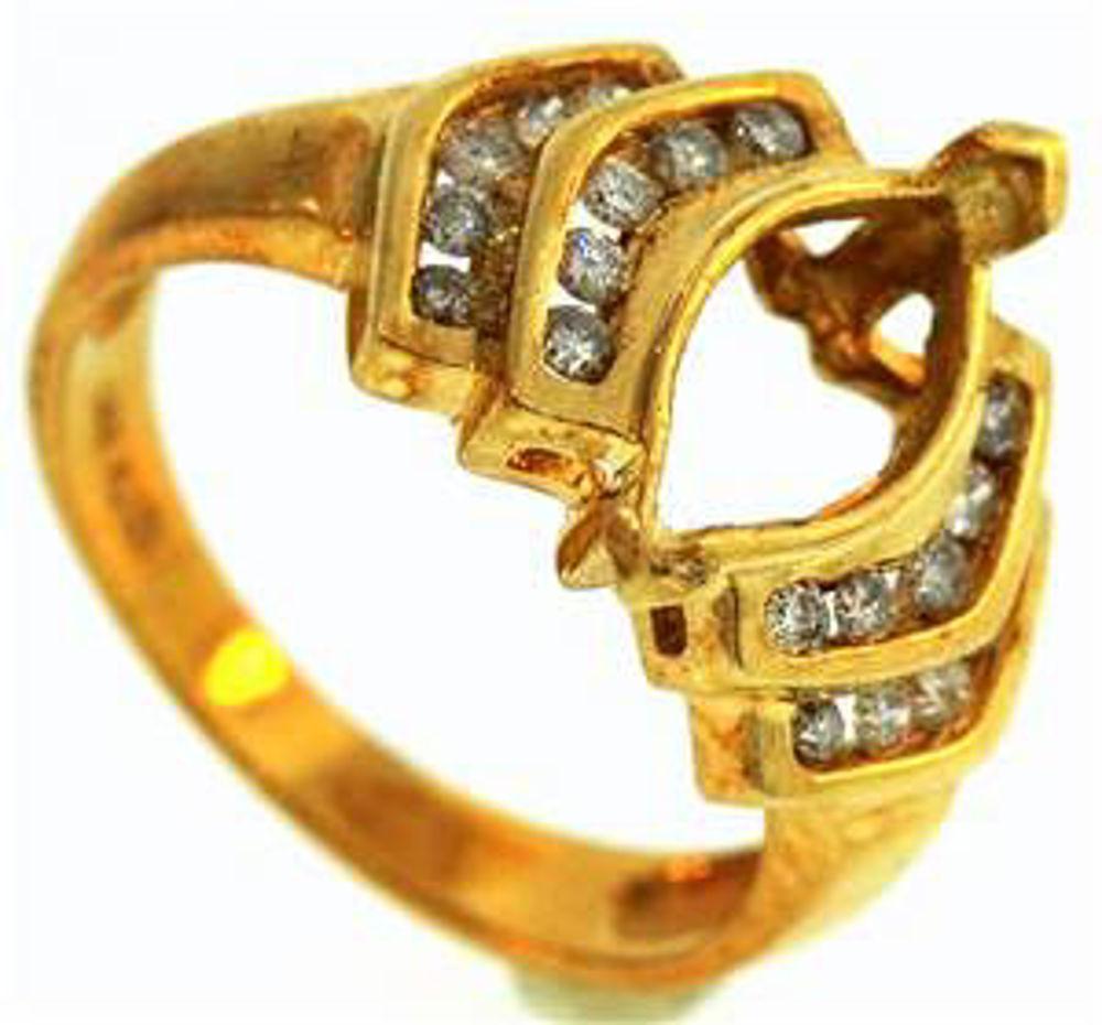 Picture of Ladies' Rings 14kt-3.1 DWT, 4.8 Grams