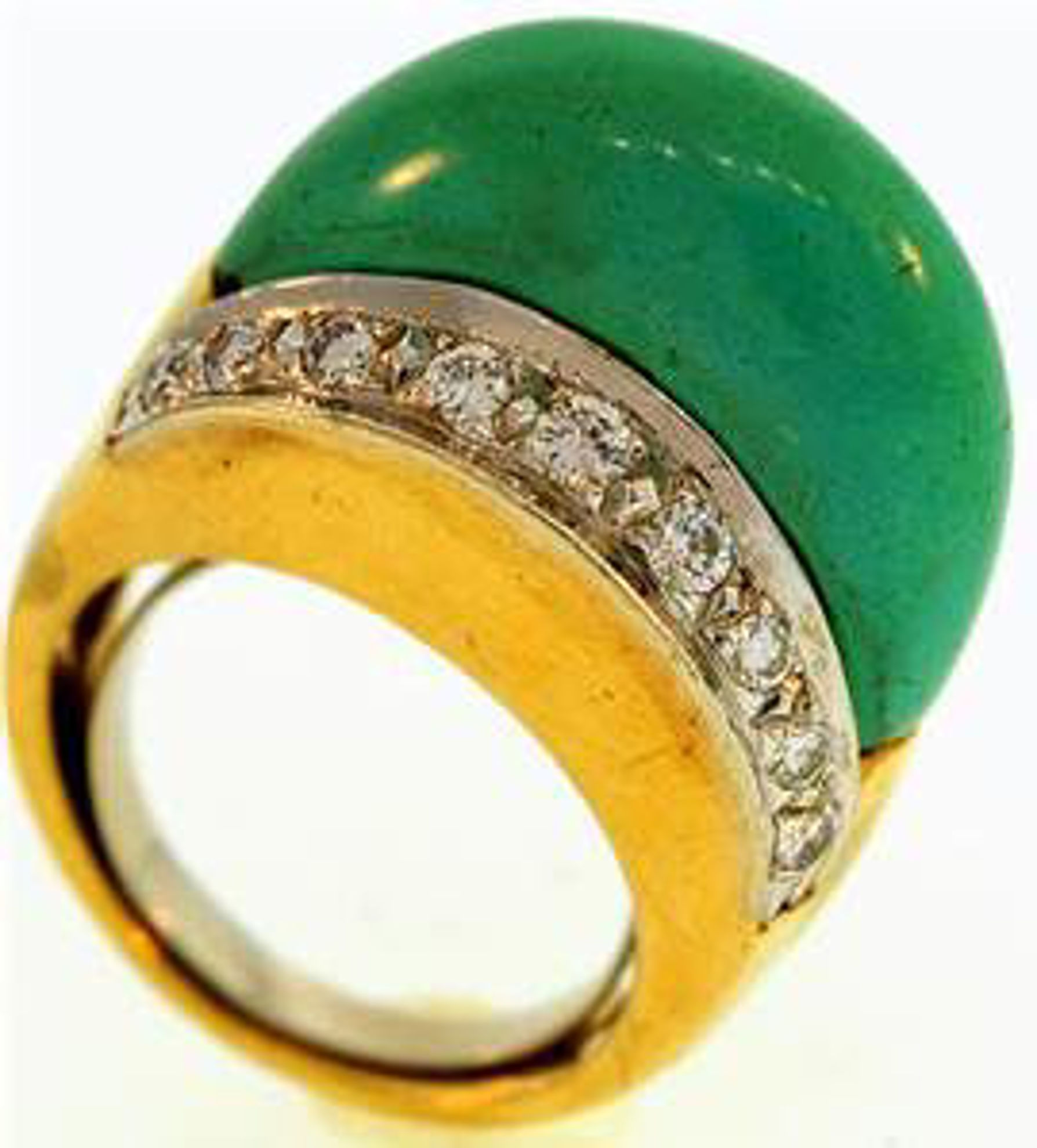 Picture of Ladies' Rings 18kt-10.0 DWT, 15.6 Grams