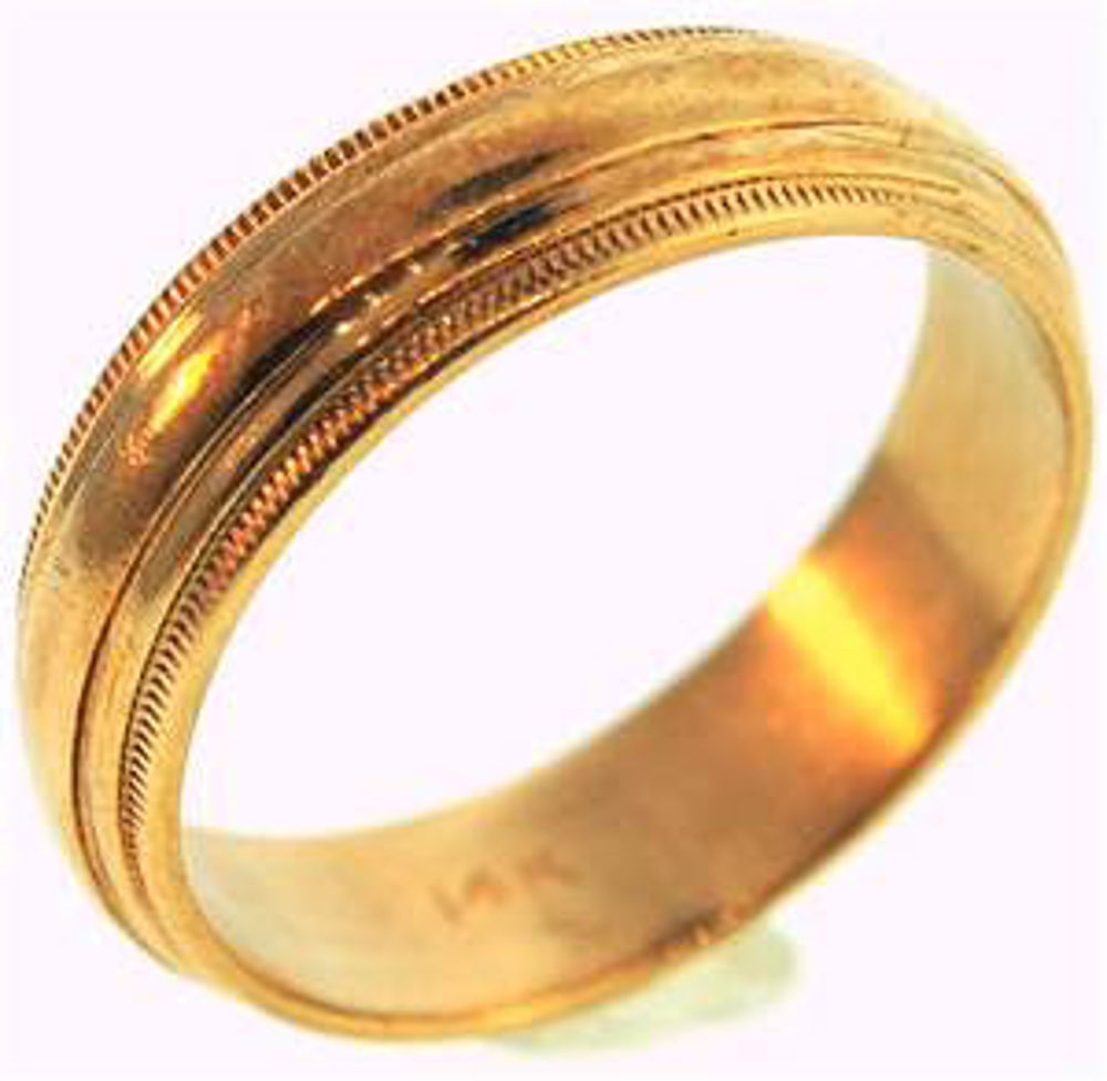Picture of Men's Rings 14kt-3.2 DWT, 5.0 Grams