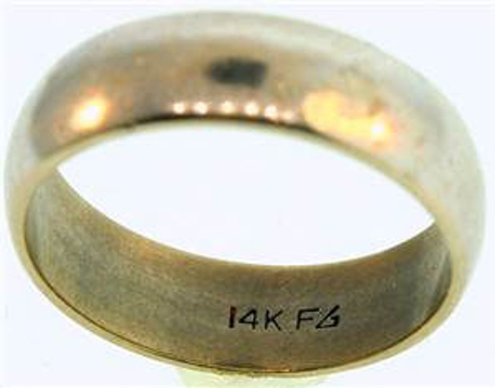 Picture of Men's Rings 14kt-3.5 DWT, 5.4 Grams