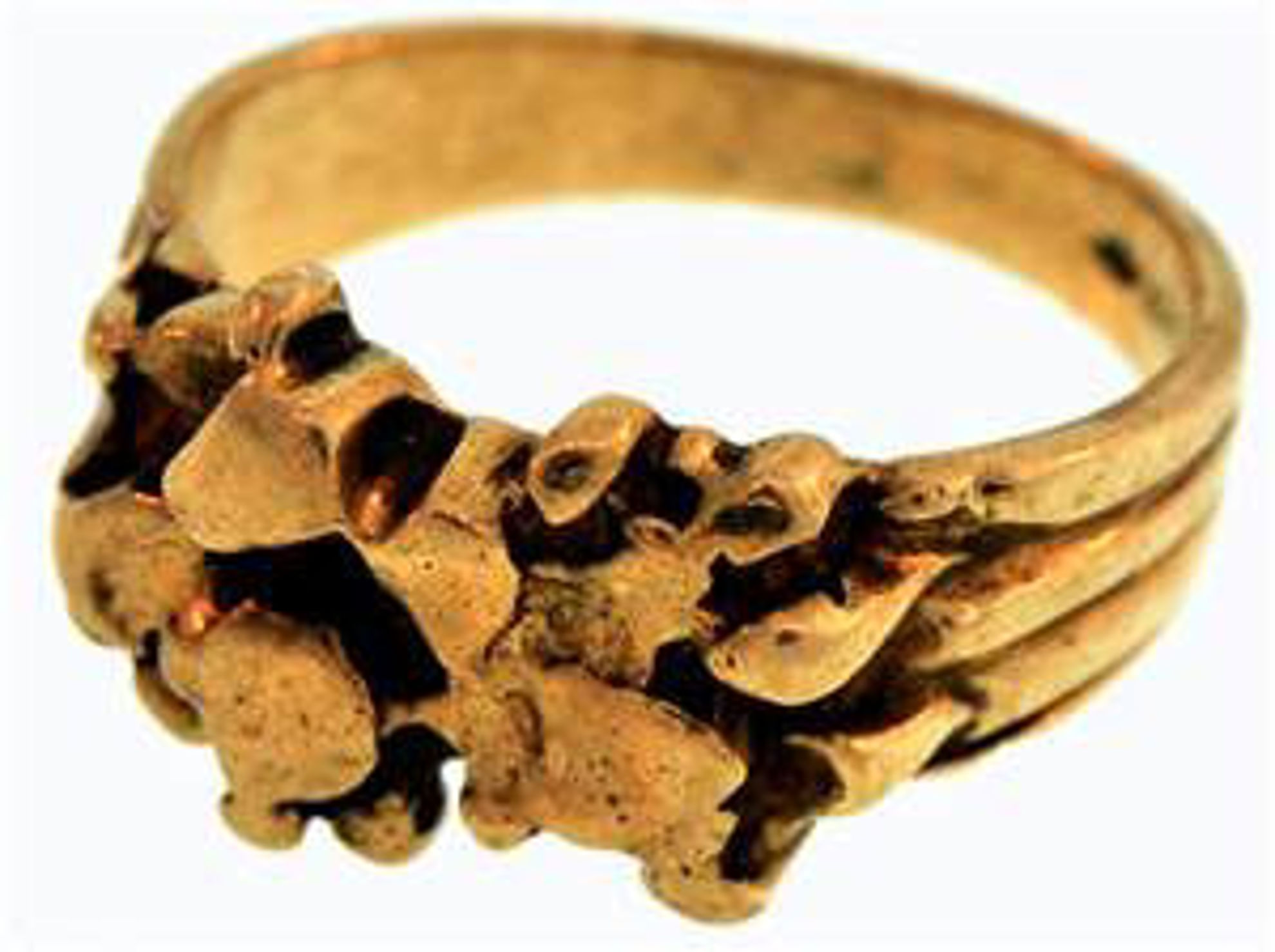 Picture of Men's Rings 10kt-4.6 DWT, 7.2 Grams