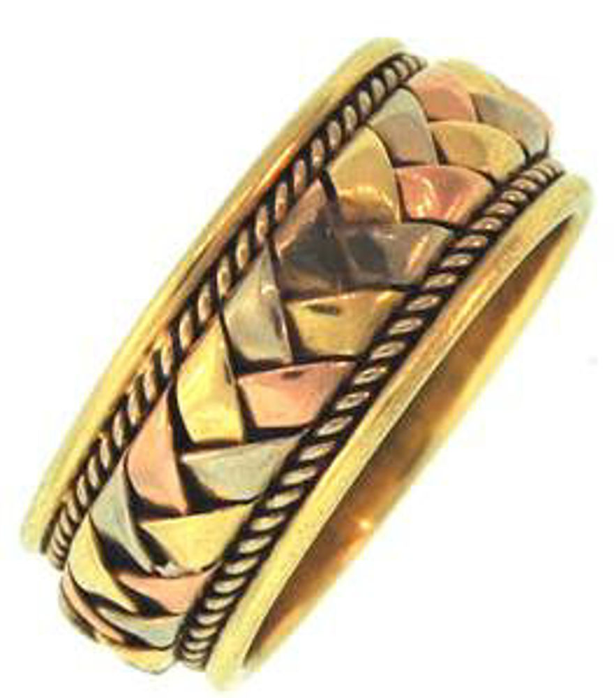 Picture of Men's Rings 18kt-5.3 DWT, 8.2 Grams