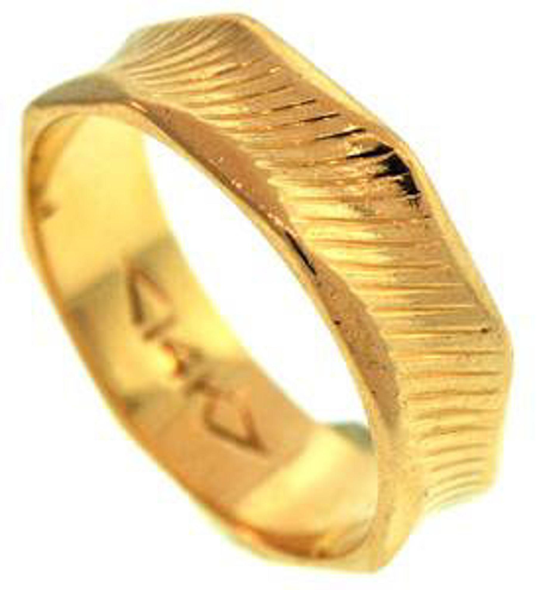 Picture of Men's Rings 14kt-3.1 DWT, 4.8 Grams