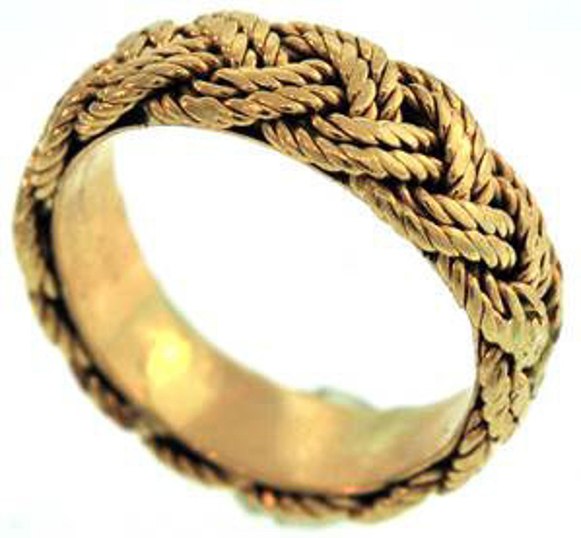 Picture of Men's Rings 14kt-4.4 DWT, 6.8 Grams