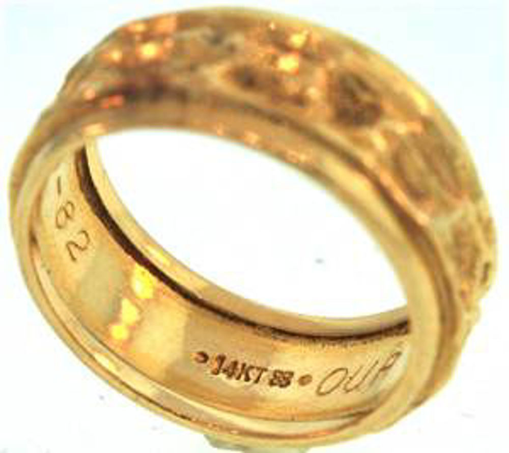Picture of Men's Rings 14kt-5.1 DWT, 7.9 Grams