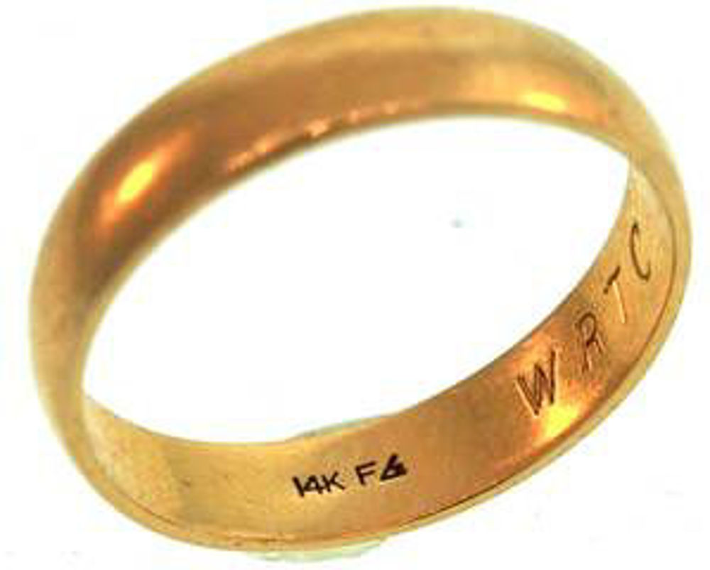 Picture of Men's Rings 14kt-2.6 DWT, 4.0 Grams