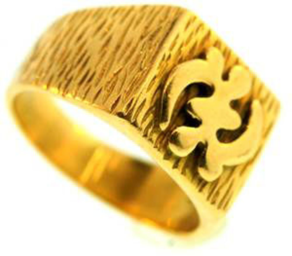 Picture of Men's Rings 18kt-9.6 DWT, 14.9 Grams