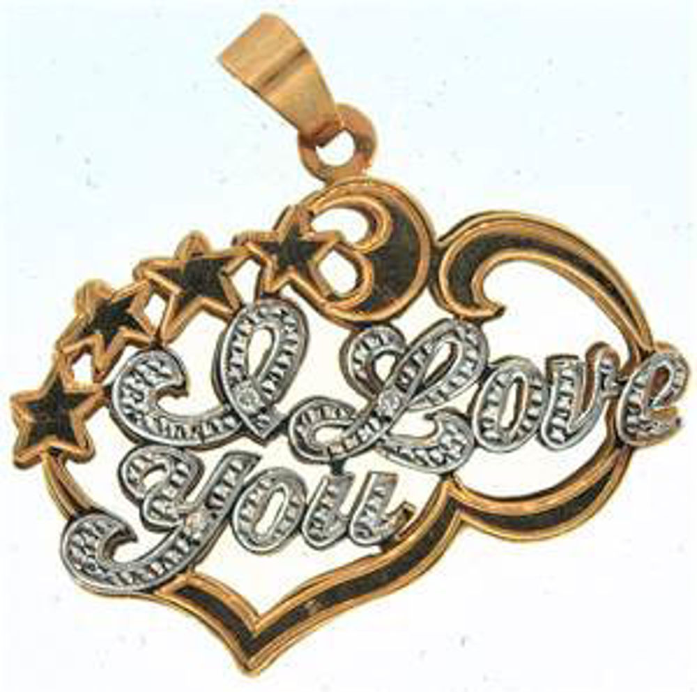 Picture of Charms & Pendants 10kt-2.8 DWT, 4.4 Grams