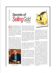 Michael Gusky's Advice to Gold Sellers